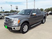 Gray 2014 Ford F-150 Lariat 4WD 6-Speed Automatic