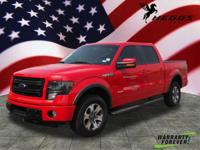 Options:  2014 Ford F-150 Fx4|4X4 Fx4 4Dr Supercrew
