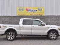 Gray 2014 Ford F-150 FX4 SuperCrew Nav/Sunroof!!! 4WD
