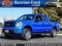 This sharp 2014 Ford F-150 STX SuperCrew 4x4 shown in
