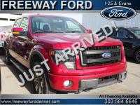 Ruby Red Metallic 2014 Ford F-150 FX4 4WD 6-Speed