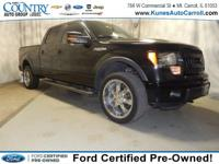 Options:  2014 Ford F-150 Fx4|Black|Accident Free Car