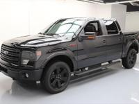 2014 Ford F-150 with FX Luxury Package,FX4 Appearance