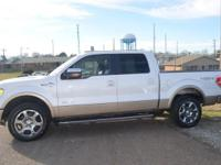 4WD. Turbocharged! Crew Cab! The F-150 is well suited