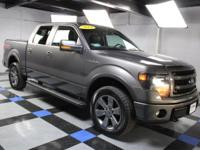 2014 Ford F-150 FX4 In Gray Metallic. 4WD. Short Bed!