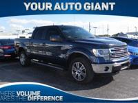 From home to the job site, this Blue 2014 Ford F-150