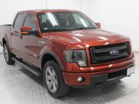 Options:  2014 Ford F-150 Fx4|Sunset Metallic|Black