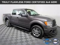 **WOW! FLAWLESS FORD CERTIFIED 2014 F-150 STX 4x4!