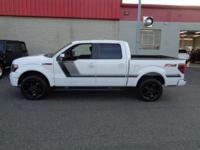 LOCAL TRADE and CLEAN CARFAX/AUTOCHECK. F-150 FX4, 4D