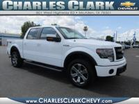 Don't miss out on this 2014 Ford F-150 FX4! It comes