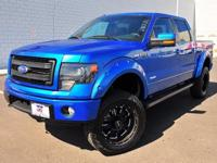 4WD and Blue Flame Metallic. Don't bother looking at