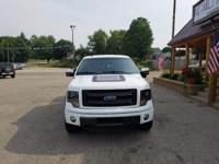 Options:  2014 Ford F-150 Fx4|White|Carfax One-Owner.