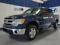 Priced below KBB Fair Purchase Price! Blue 2014 Ford