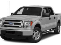 Clean CARFAX. Silver 2014 Ford F-150 FX4 4WD 6-Speed