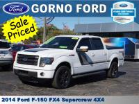 2014 FORD F-150 4X4 SUPERCREW FX4. POWER MOONROOF,