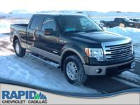 This outstanding example of a 2014 Ford F-150 FX4 is