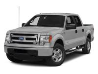 4WD, FORD CERTIFIED, 2014 Ford F-150XLT in Silver,