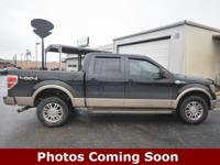 CARFAX One-Owner. Tuxedo Black Metallic 2014 Ford F-150