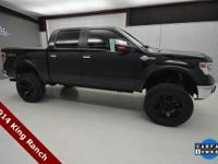 CARFAX One-Owner. Clean CARFAX. Black 2014 Ford F-150