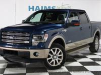 2014 Ford F-150 4x4 King Ranch. All vehicles priced to