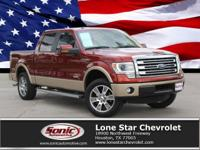 2014 Ford F-150 Lariat, Certified Clean Carfax. From