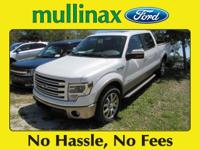 Options:  2014 Ford F-150 Lariat|Carfax One-Owner.