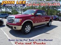 ONLY 15,906 MILES..! This 2014 Ford F-150 Lariat looks