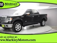 Enjoy our Carfax One Owner  2014 Ford F-150 Lariat