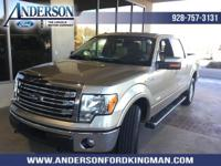 Pale Adobe Metallic 2014 Ford F-150 Lariat 4WD 6-Speed