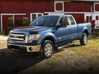 Leather Interior. F-150 Lariat, 4D SuperCrew, 4WD, and