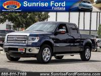 Enjoy our 2014 Ford F-150 Lariat SuperCrew 4x4