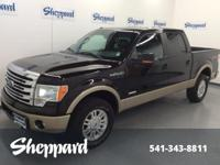 Lariat trim. CARFAX 1-Owner. Heated Leather Seats,