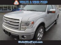 4WD SuperCrew 145 Lariat - POWER MOONROOF - NAVIGATION
