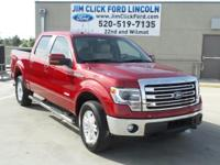 LOW MILES, This 2014 Ford F-150 Lariat will sell fast