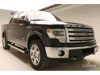 This 2014 Ford F-150 Lariat Crew Cab 4x4 with only
