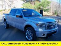 CARFAX One-Owner. Clean CARFAX. 2014 Ford F-150 Limited