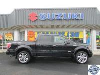 Options:  2014 Ford F150 Limited|Miles: 59625|Color:
