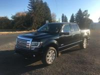 Options:  2014 Ford F-150 Platinum Supercrew 6.5-Ft.