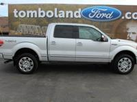 2014 Ford F-150 Platinum Ingot Silver Metallic ABS