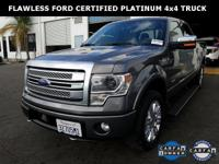 **WOW! FLAWLESS CERTIFIED 2014 F-150 PLATINUM 4X4!