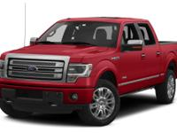 This outstanding example of a 2014 Ford F-150 Platinum