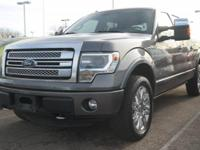 Ford Certified. Platinum trim. Heated/Cooled Leather