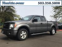 2014 Ford F-150 STX Gray 3.7L V6 FFV Low Miles, ABS