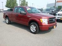 This outstanding example of a 2014 Ford F-150 STX is