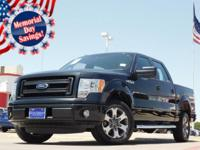 2014 Ford F-150 Black 6-Speed Automatic Electronic