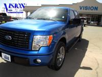 F-150 STX Sport and 5.0L V8 FFV. ABS brakes, Alloy