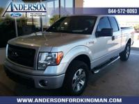 This Ford F-150 has a dependable Regular Unleaded V-6