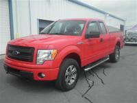 Red 2014 Ford F-150 4WD 6-Speed Automatic Electronic