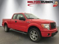 This 2014 Ford F-150 4dr 4WD SuperCab 145 STX features