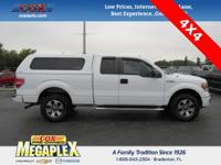 This 2014 Ford F-150 STX in Oxford White is well